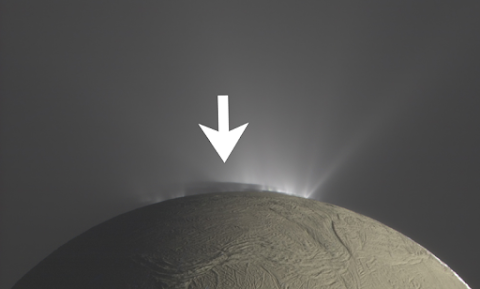 Mystery Structure Spotted On Saturn Moon