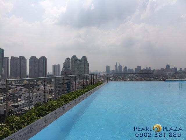 hồ bơi tại pearl plaza