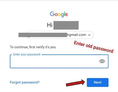 google account ka password kaise change kare