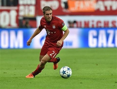 Hậu vệ phải: Philipp Lahm