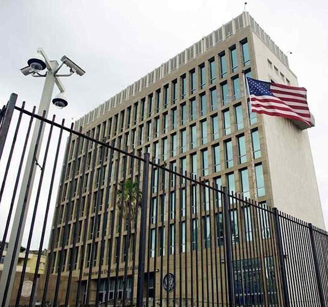 Embaixada dos EUA em Havana foi um dos alvo