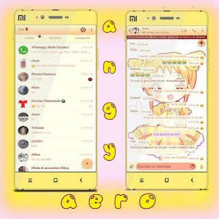 Anime Girls Theme For YOWhatsApp & Fouad WhatsApp By Angyfenix