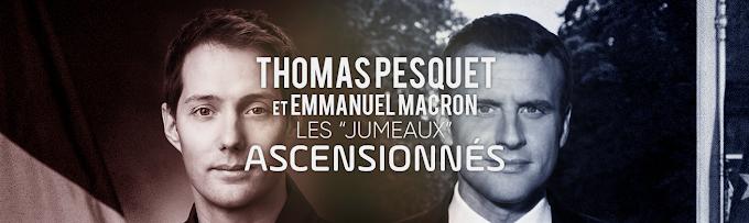 Thomas Pesquet et Emmanuel Macron, les jumeaux ascensionnés