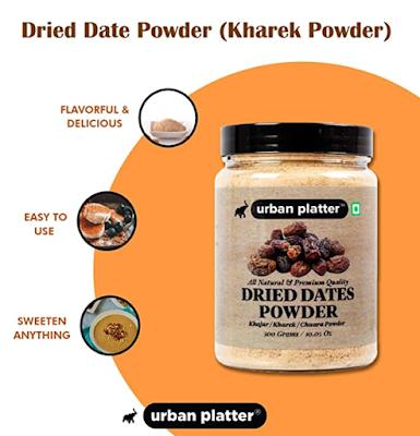 Urban Platter Dried Date Powder Full of Vitamins, Calcium & Iron and Natural Antioxidant & Sweetener