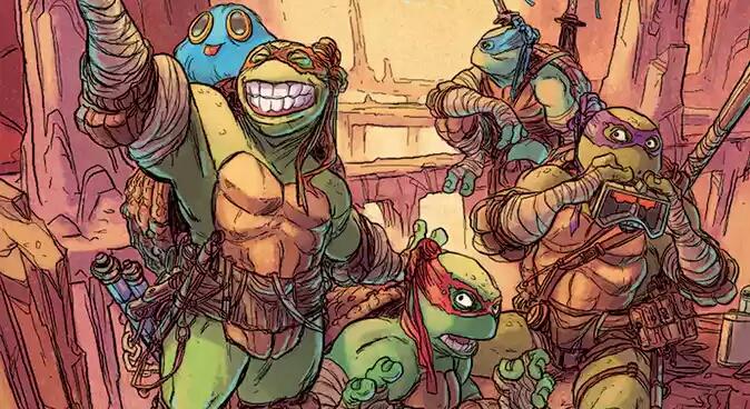 Teenage Mutant Ninja Turtles New Adventure Continue In Dimension X.