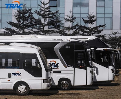 Sewa Bus Pariwisata di TRAC Astra