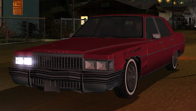 GTA SA - ImVehFt - Improved Vehicles Features (Foto: Reprodução/DK22Pac)