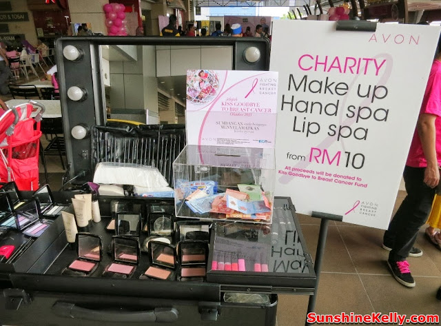 Avon, Avon Kiss Goodbye to Breast Cancer 2013, Bus, Mydin Malaysia, Breast Cancer awareness