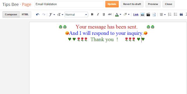 হাহা ব্লগে PHP Contact Me Script   এবং Custom 404 Error Message ছবি সহ যোগ করুন । মিস করলে পস্তাইবেন :p