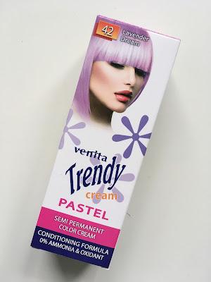 Kolorowe Włosy Lawendowe Włosy Krem koloryzujący