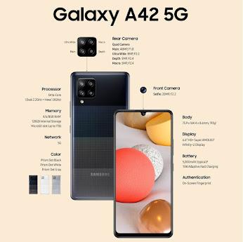 مراجعة سامسونج جالاكسي Samsung Galaxy A42 5G