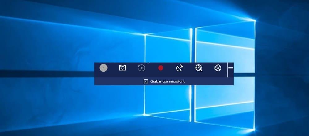 como grabar la pantalla de mi pc windows 10