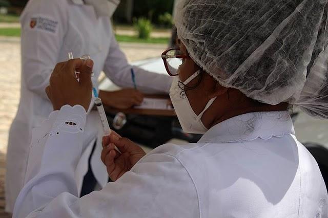 Prefeitura de Parnaíba prepara imunização de idosos entre 85 e 89 anos contra COVID-19