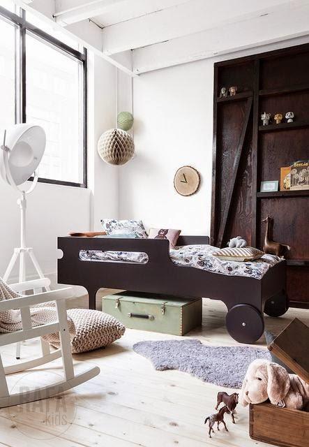 Chambre originale pour garçon