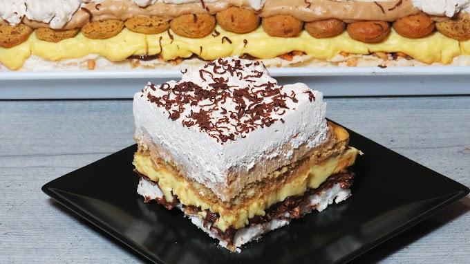 Cel mai decadent Tort cu Alune, Bezea si Cafea - Reteta video