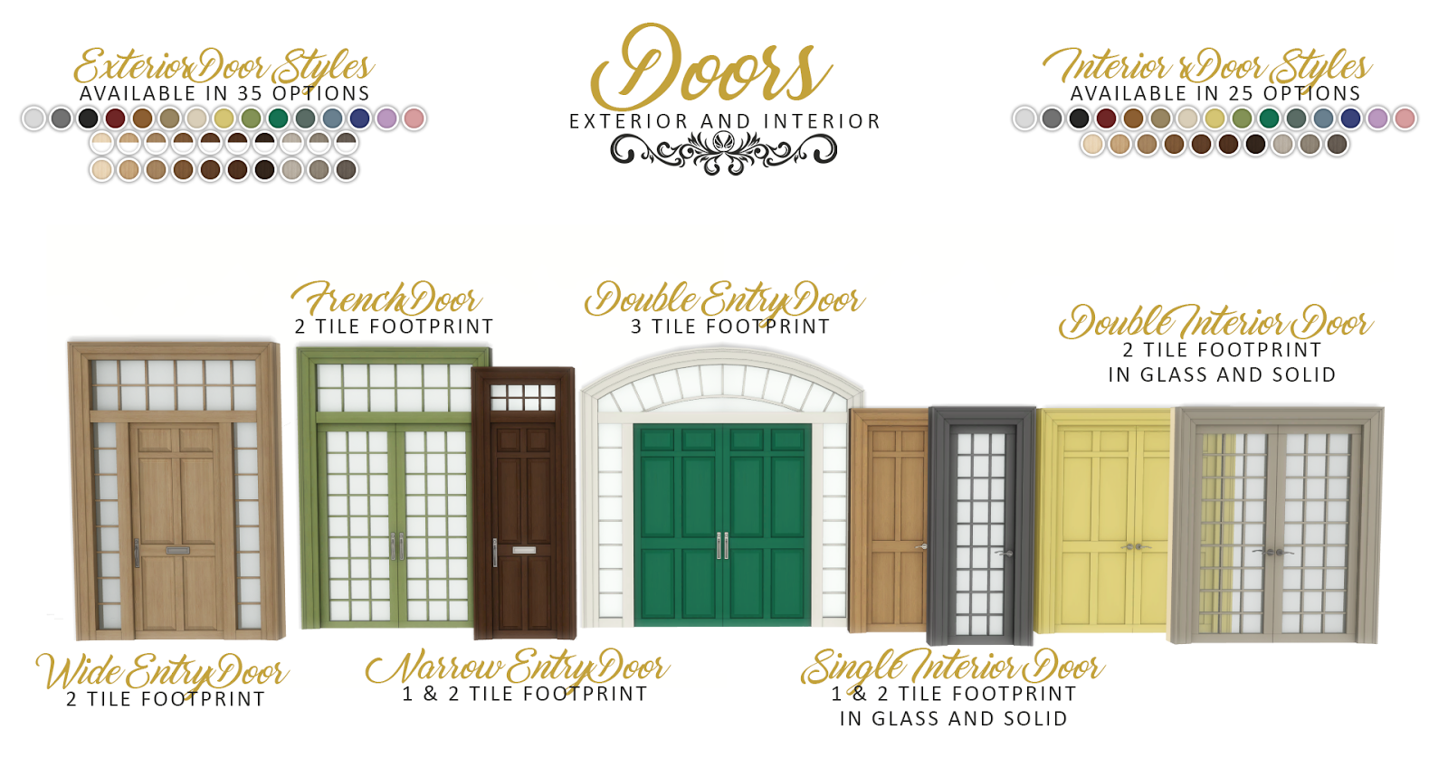 Simsational Designs Updated Graciously Georgian Build Set