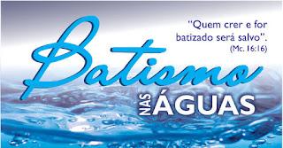 Batismo nas Águas Com Espírito Santo