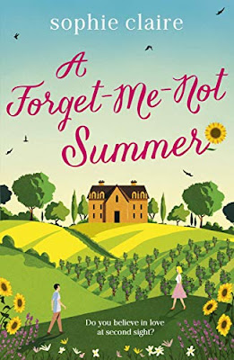 #FrenchVillageBookworm book review A Forget-Me-Not Summer Sophie Claire
