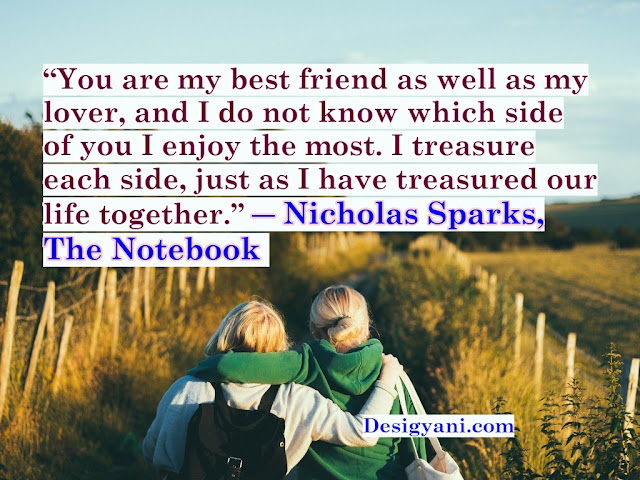 You are my best Short Inspiring Quotes Collection about True Friendship in English