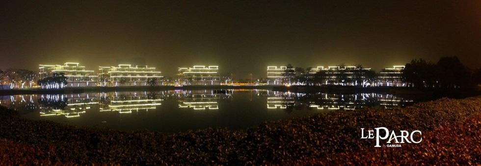 Bên cạnh công viên Yên Sở sẽ là trung tâm thương mại sầm uất Le PARC by Gamuda