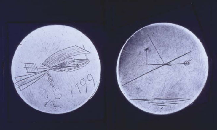 George Cayley's silver disc