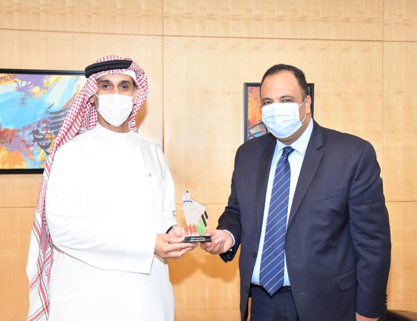 Expo Centre Sharjah and Egyptian Commercial Office discuss bilateral cooperation