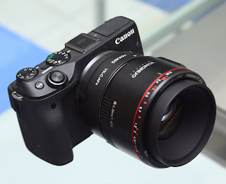 Jual Kamera Mirrorless Canon Eos M3 TouchScreen Malang