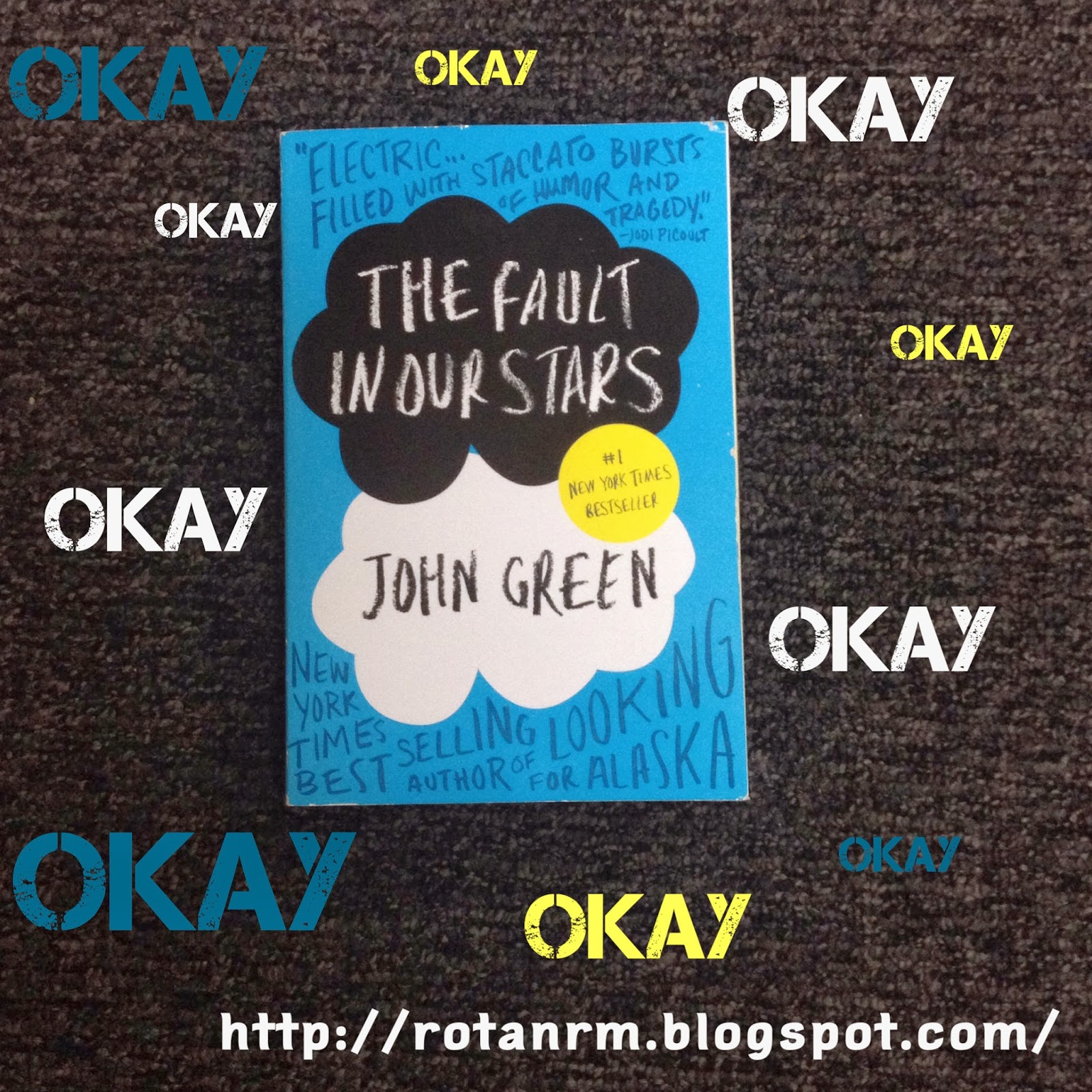 Rotanrm Random World: Book Review: The Fault in Our Stars ...