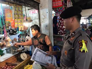Satgas Pencegahan Operasi Aman Nusa II Seligi 2020 Polda Kepri Beri Himbauan Pencegahan Covid 19