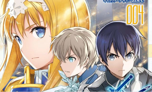 Sword Art Online: Project Alicization, portada de su volumen 4