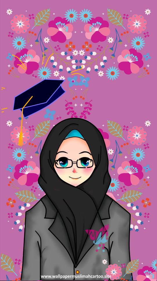 Kartun Muslimah Wallpapers - Gallery Islami Terbaru