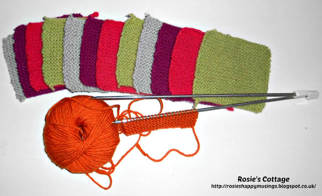 Rosies Knitted Squares