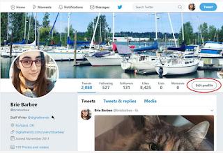 Cara mengganti username twitter dan nama tampilan di Twitter Anda