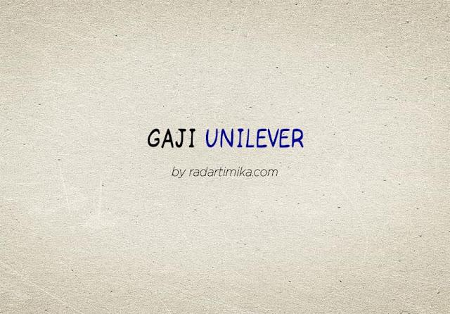 Gaji Karyawan Unilever