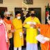 भाजपा पदाधिकारियों ने अभियान के तहत वितरित किया प्रधानमंत्री मोदी का पत्रक