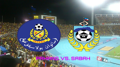 Live Streaming Pahang vs Sabah Piala Malaysia 4.8.2018
