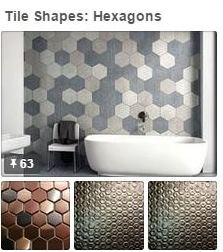 Tile Shapes: Hexagons  | Avente Tile's Pinterest Board