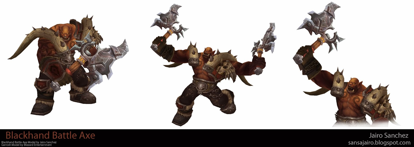 Orc Axe Warcraft World of Warcraft Weap...