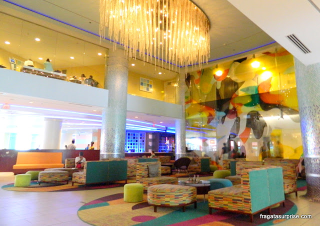 Recepção e lobby do Renaissance Curaçao Resort