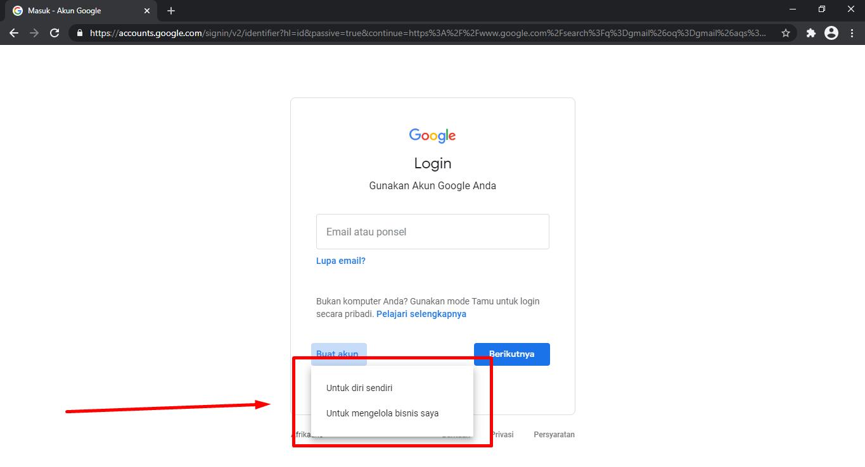Cara Membuat Email Di Laptop Beserta Gambarnya Gmail Satutitiknol Com