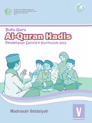 buku guru mata pelajaran qur'an hadis kelas 5 kurikulum 2013