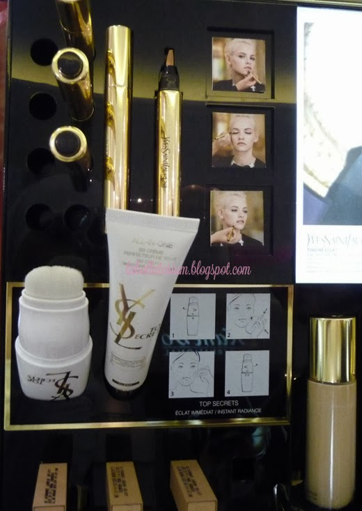 Beauty Event - Romancing with YSL (Yves Saint Laurent) Product skin care