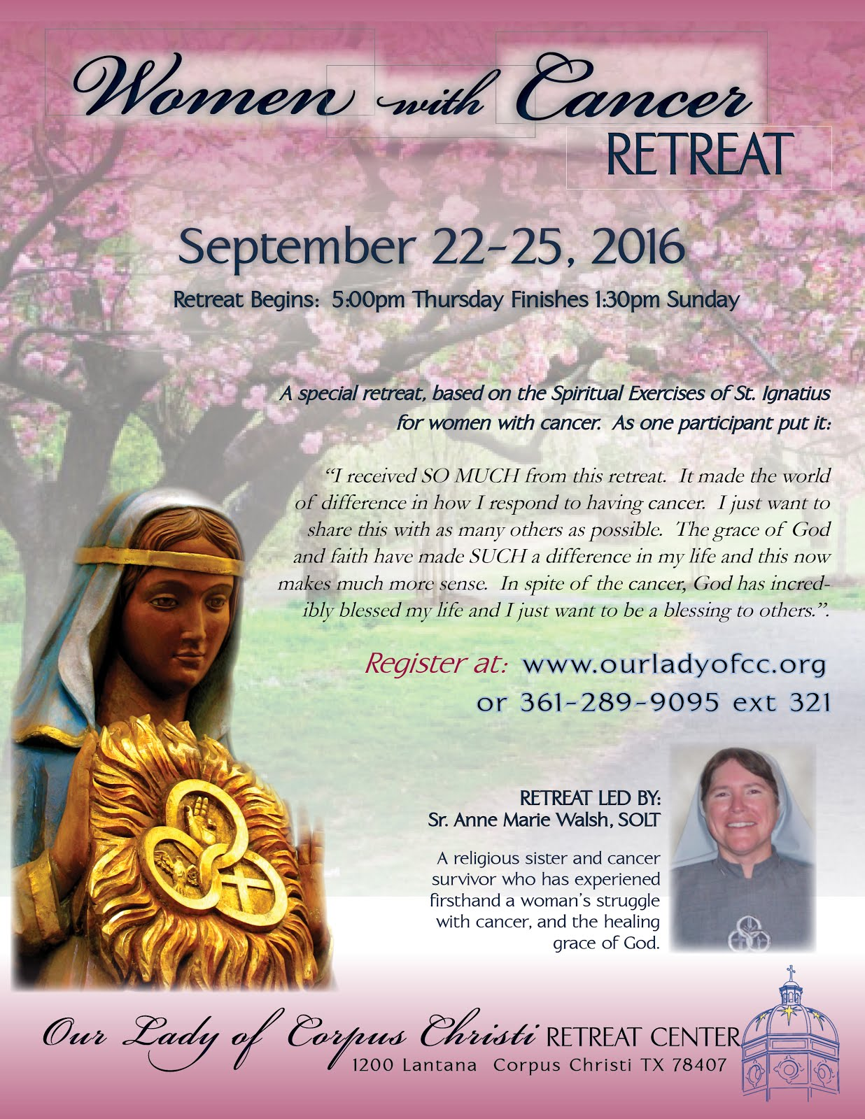 Women With Cancer Retreat 2016