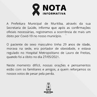 Imagem: Divulgação / Prefeitura de Muritiba