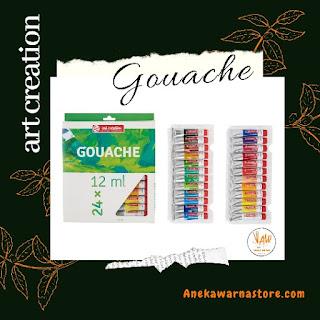 cat gouache adalah