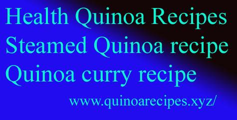 Health Quinoa Recipes