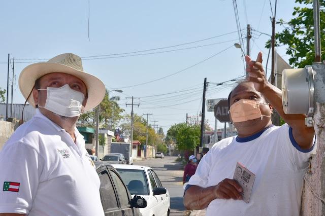 Vecinos del Sur de Mérida piden servicios de calidad