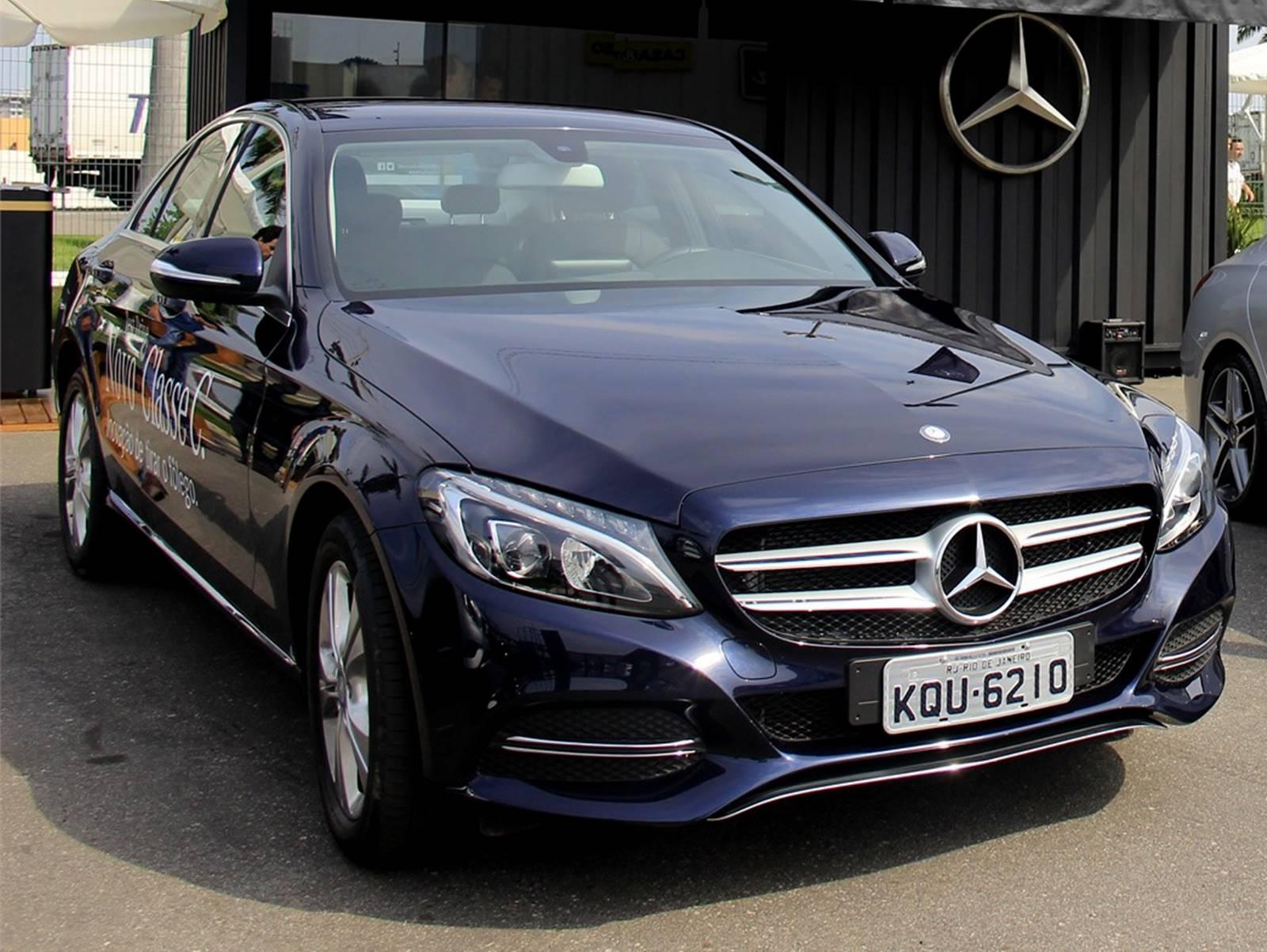 Mercedes benz c180 flex tem desconto de r 13 mil reais for C180 mercedes benz