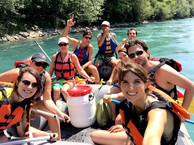 Verano en Suiza Rafting de Thun a Berna