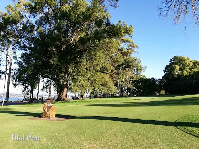 drinking fountain Percutian Perth  King Park & Botanic Garden